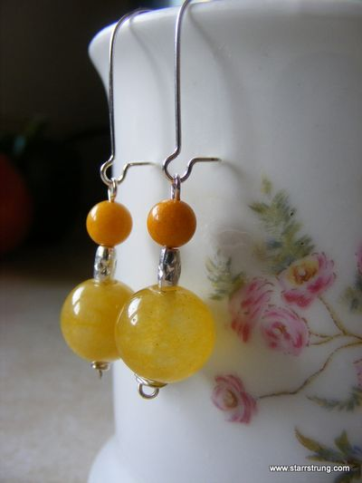 Mimosa Cheery earrings