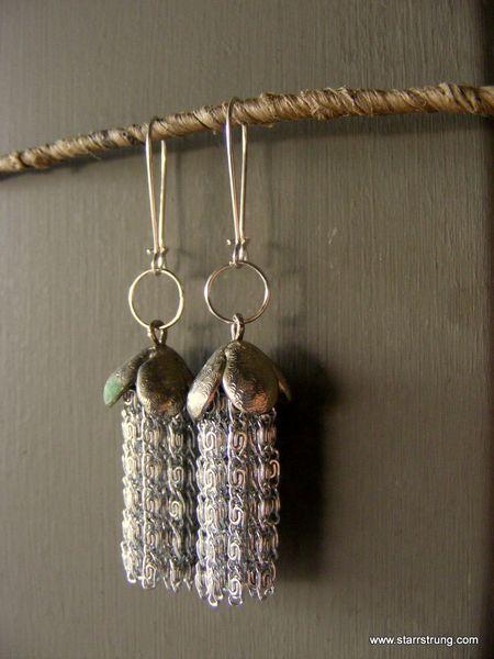 Octupus earrings
