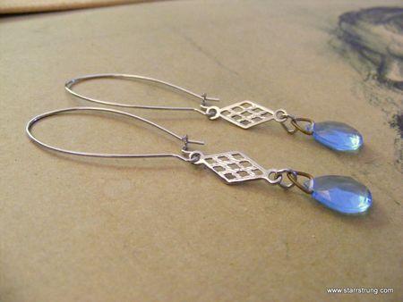 Blue Haze earrings