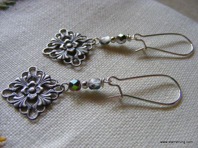 Filigree Bliss earrings