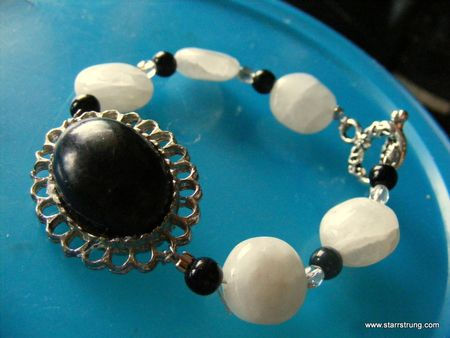 Black Shoeclip Bracelet