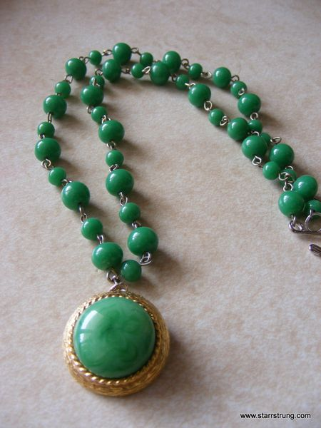Green Beans Necklace